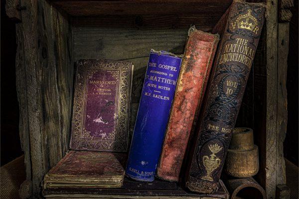 Set-A-130-SET Box of books
