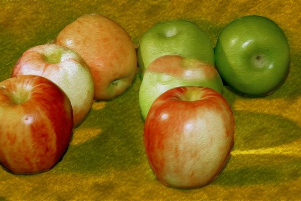 Set-AB-451-cezanne still life 7 apples
