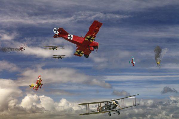 Set-A-130-The Red Baron Circus
